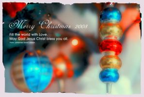 Christmas Greeting Card by glowingblue