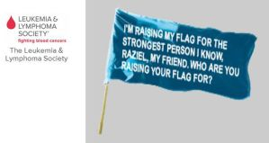 Flag for Raziel by Shirley-Agnew-Art