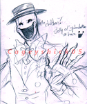 Oh hes a jolly good fellow -WIP/Sketch- by Cageyshick05