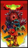 metroid Print by GlenMiles