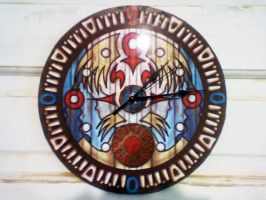 Majora's Mask Wall Clock Tower replica by VitoTheCat