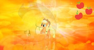 AppleJack Wallpaper by TheGreatFrikken