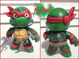 Teenage Mutant Ninja Turtles: Raphael by TheMonsterKrebs