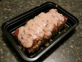 Banana Bread with Bourbon Sauce by devianb