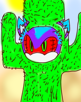 Mephiles The Cactus by Puple-Chaos