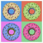 Donut Pop Art by rubenzuelo