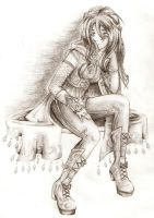 A Thoughtful Bard by Kitia
