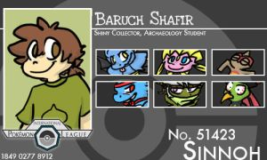 Trainer - Baruch by Pokemon-League