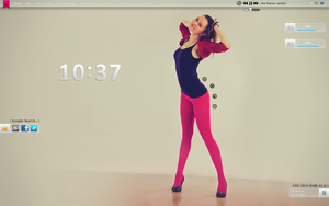 Tema para Windows 7 Clear Girl -4 by 117fausto