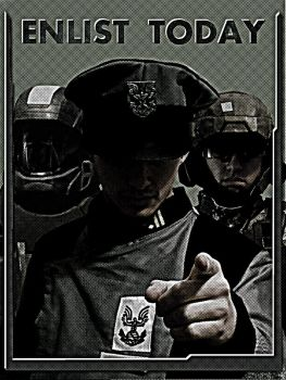 Enlist Today by Kawassass00