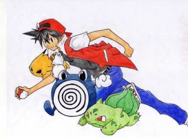 pokemon adventures: red by mariot4747
