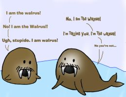 Who is the Walrus? by Queen-obsession
