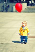 The Red Baloon by ralucsernatoni