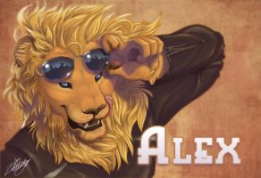 Alex Badge by zhivagooo