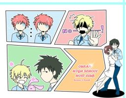 Ouran: You are mine by Mikan-chan