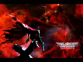 [FFVII DoC] Vincent Valentine wallpaper by yoanribeiro