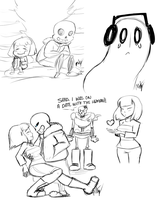 More Undertale  by Mitzy-Chan