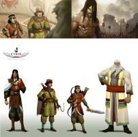 Shah Nameh  Concepts and Designs by Darkdux