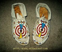 Plains Indian Moccasins by BaBQ