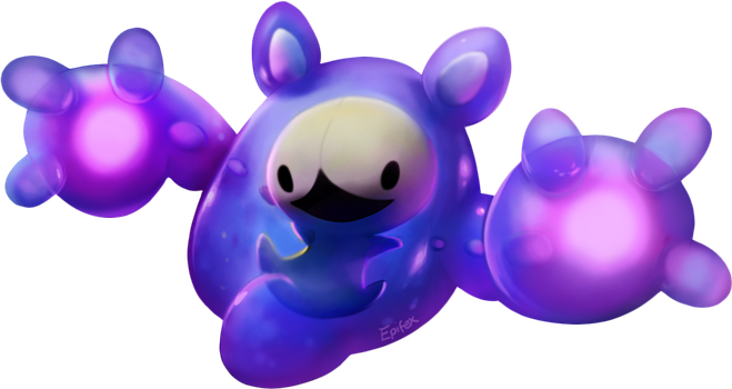 GottaDrawEmAll Collab Entry- Shiny Reuniclus by Epifex