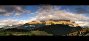 Alpine View - Moring by Panomenal