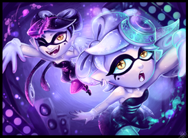 Stay Fresh! Callie and Marie by WalkingMelonsAAA
