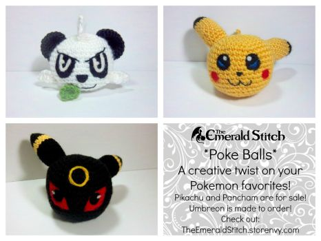 Collect all the Poke Balls! by TheEmeraldStitch