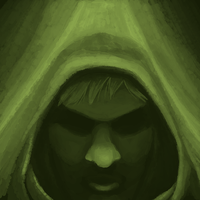 Hooded man by jcnorn