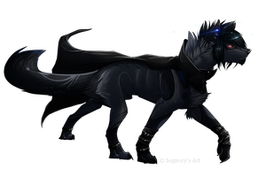 Prince of Shadow .:. Commission by Eredhys