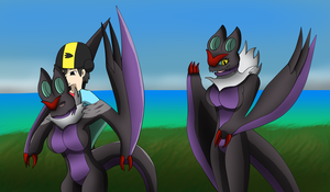 Req: Anthro Noivern TF TG by Avianine