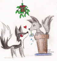 Mistletoe by PhantomDragonZX