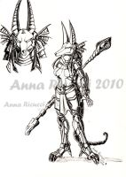 Anubis Warrior by Spizzina00