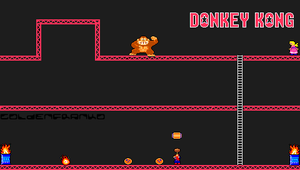 Donkey Kong PSP Wallpaper by GoldenfrankO