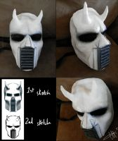 Elijahs' demon mask by genusarcturus