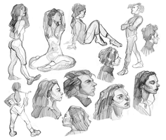 SVA Life Drawing 10 by foxcrusade