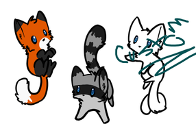 Cat adopts! OPEN! by Turtlewuff