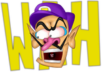 Waluigi in Shock by sergeant16bit