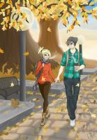 Fall Walk by Gslice22