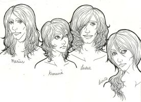 Vampire Chronicles boys by stumbleine07
