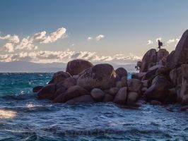 Sand Harbor lake Tahoe by MartinGollery