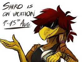 ON VACATION by Shiro-Daemon