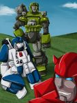 Just Chillin' - Transformers by Sharky-chan