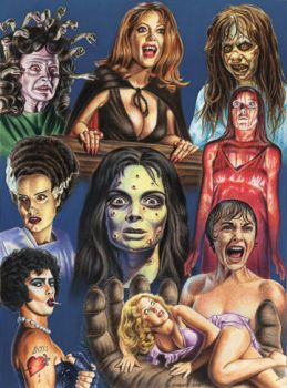 Queens of Horror by Monsterbatory1