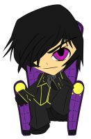 Chibi: Lelouch Lamperouge by animereviewguy