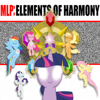 Elements of Harmony CD Cover by Stratolicious
