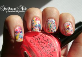 Paint Splatter by Animalluver1985