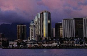 Night Time at Honolulu - Hawaii by jchau