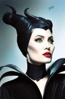 Maleficent by NarineFox