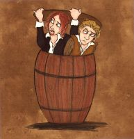 Anti-Pirate Barrel by MichellePrebich