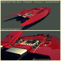 AeroCat fwd engines by Scifiwarships